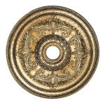 "Livex Lighting 30"" Vintage Gold Leaf Ceiling Medallion 8210-65"