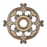 "Livex Lighting 23"" Venetian Patina Ceiling Medallion 8216-57"