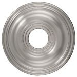 "Livex Lighting 16"" Brushed Nickel Ceiling Medallion 8217-91"