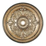 "Livex Lighting 48"" Vintage Gold Leaf Ceiling Medallion 8228-65"