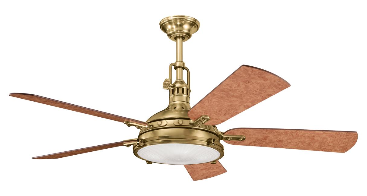 Kichler Burnished Antique Brass Ceiling Fan Burnished