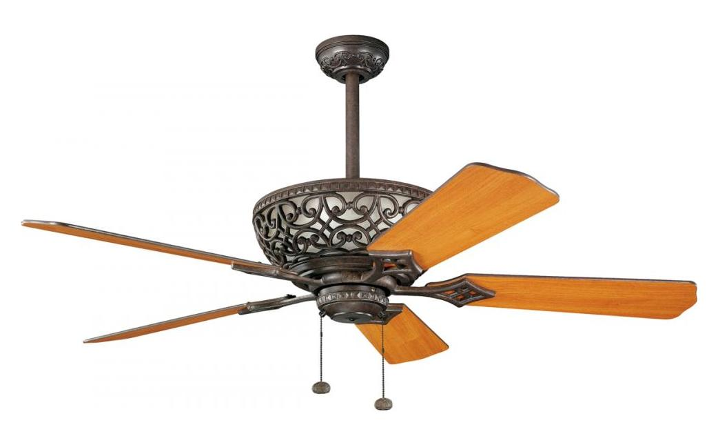 Kichler Tannery Bronze Ceiling Fan Tannery Bronze 300113tz From Cortez Collection