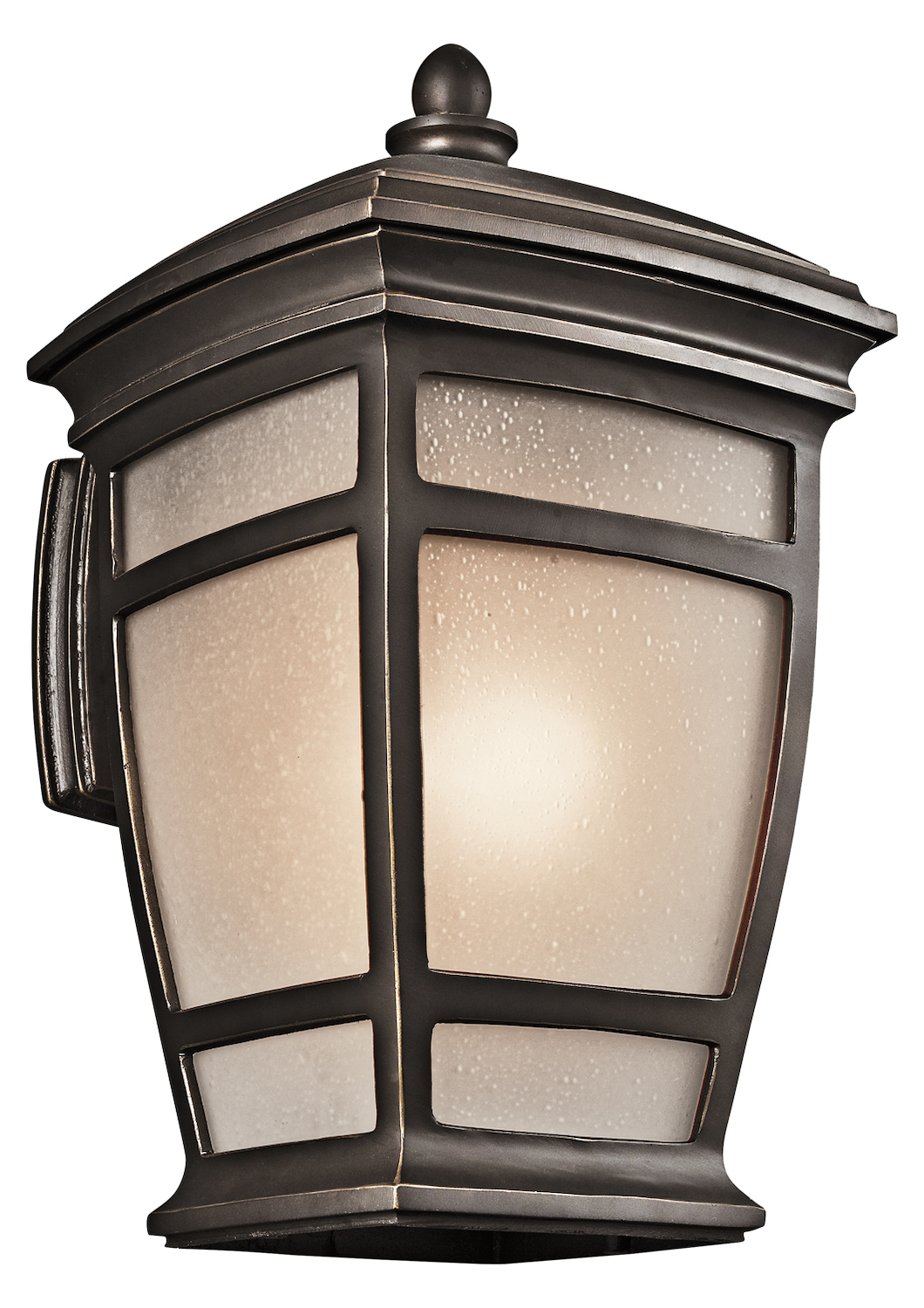 Kichler Rubbed Bronze Mcadams Collection 1 Light 21In. Outdoor Wall Light