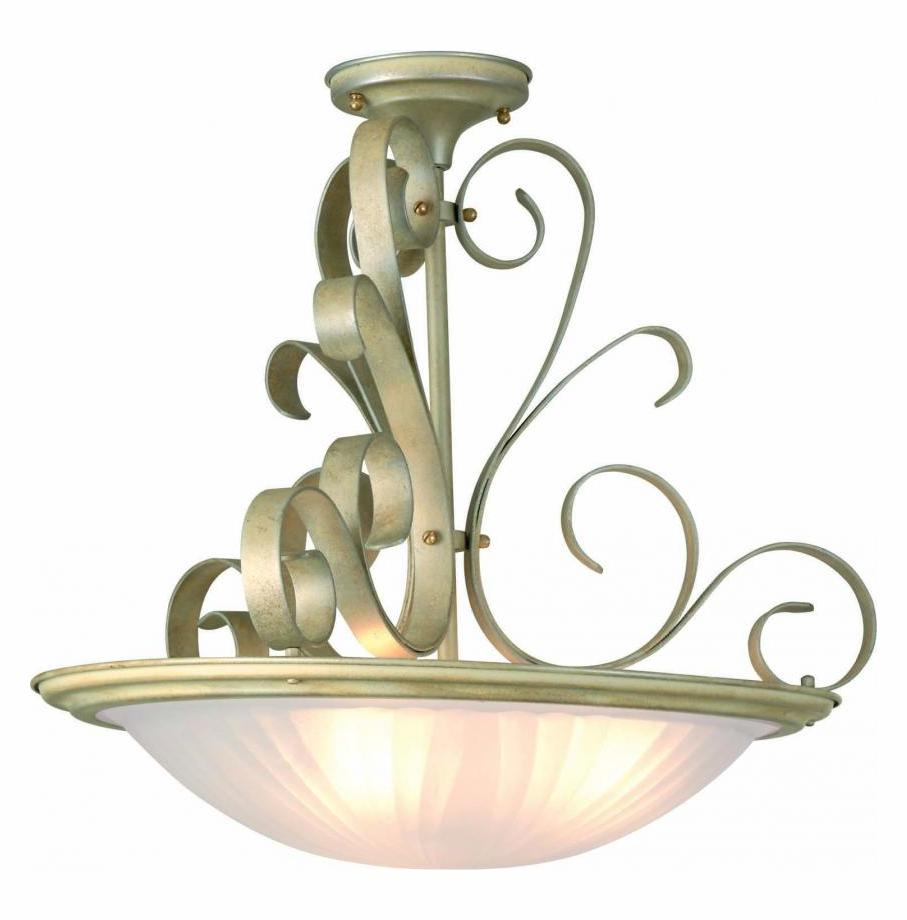 Lite Source Inc Semi Flush Ceiling Fixture From The