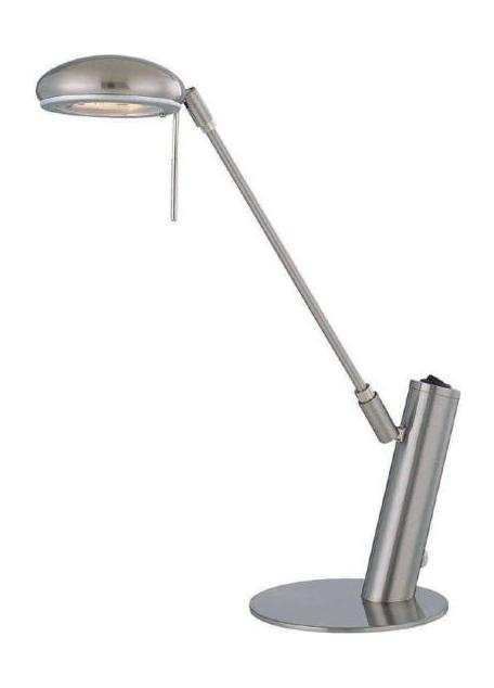 Lite Source Inc. Black Halogen Desk Lamp From The Halo Collection