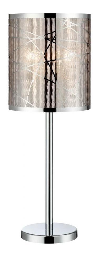 Lite Source Inc Lorenza 1 Light Table Lamp Chrome Ls