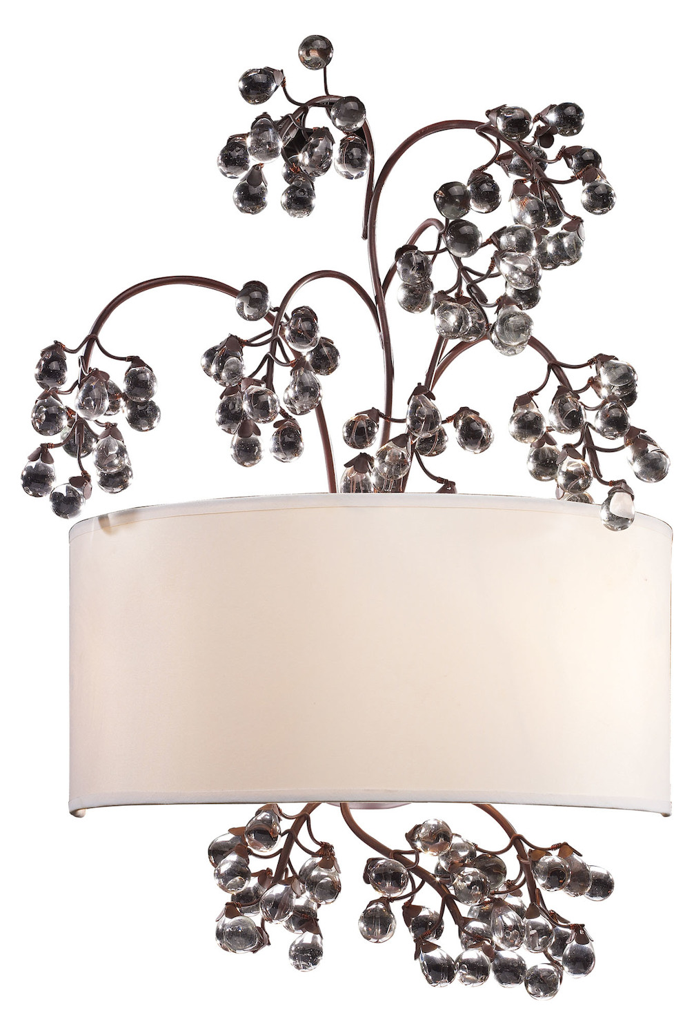 ELK Lighting Two Light Antique Darkwood Wall Light