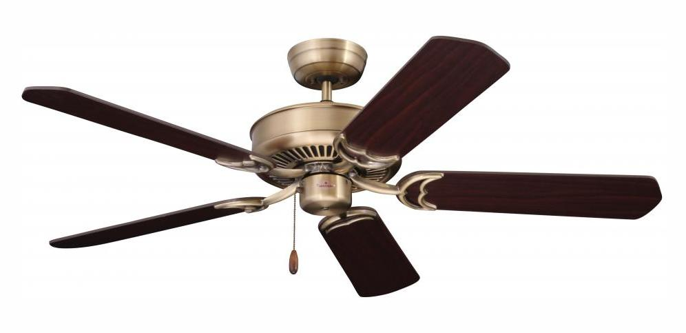 Emerson Fans Antique Brass Designer 52in 5 Blade Ceiling