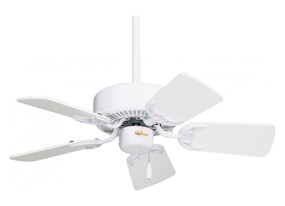 Fan Blades For Small Motors : Emerson fans appliance white northwind in blade