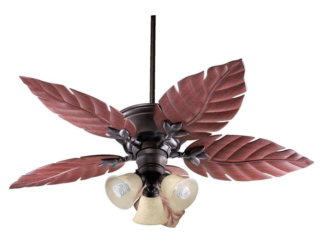 Quorum Toasted Sienna Outdoor Fan Bronze 135525 44 From
