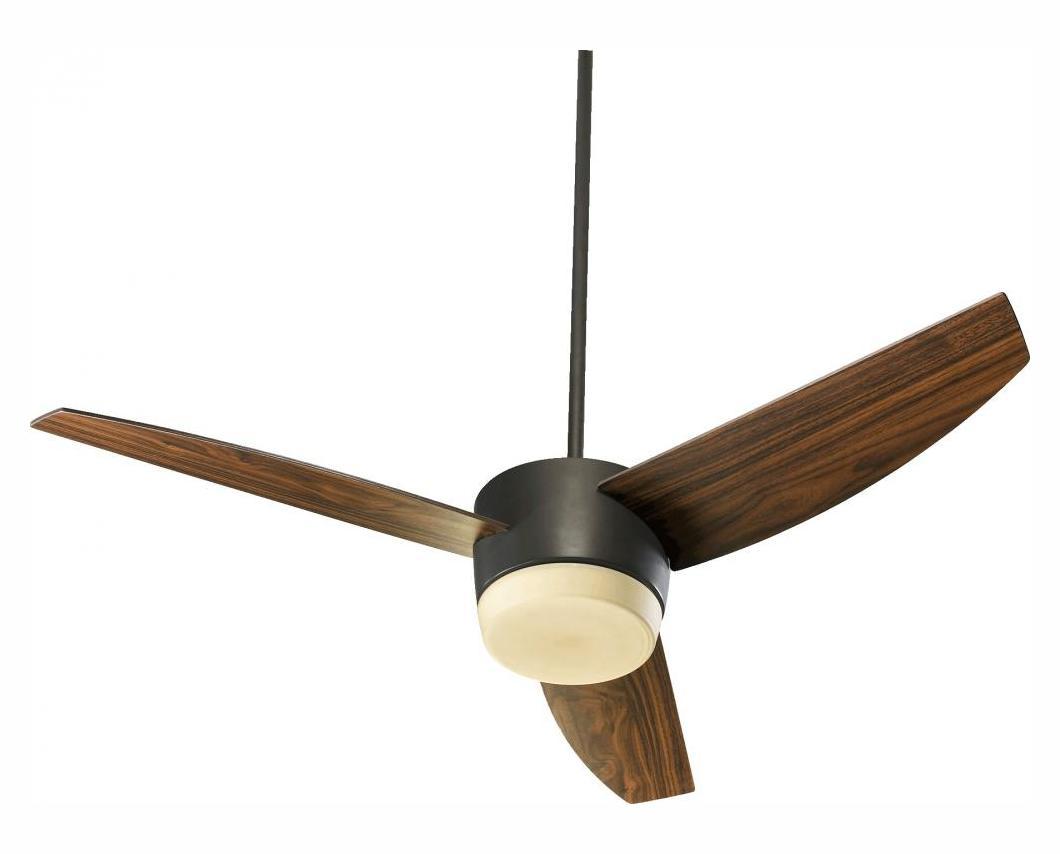 Oiled Bronze Ceiling Lights : Quorum two light oiled bronze ceiling fan