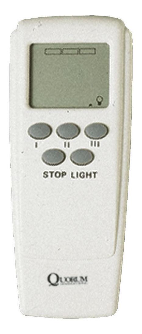 Quorum White Fan Remote White 7 3000