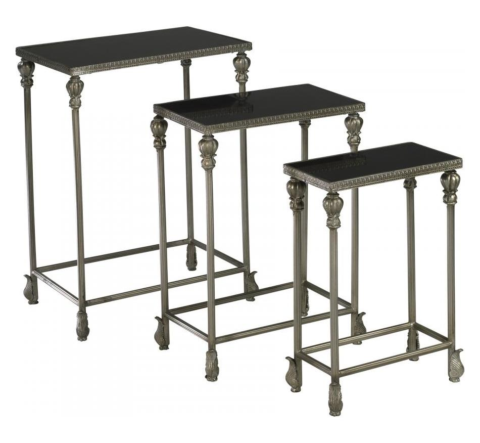 Cyan Designs Antique Silver 24.25in. Livingston Nesting Tables