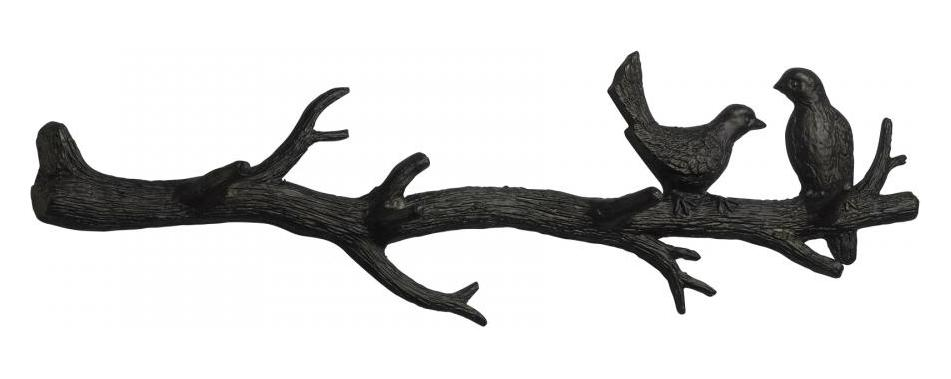Cyan Designs Canyon Bronze 9.5in. Bird Branch Coat Hook