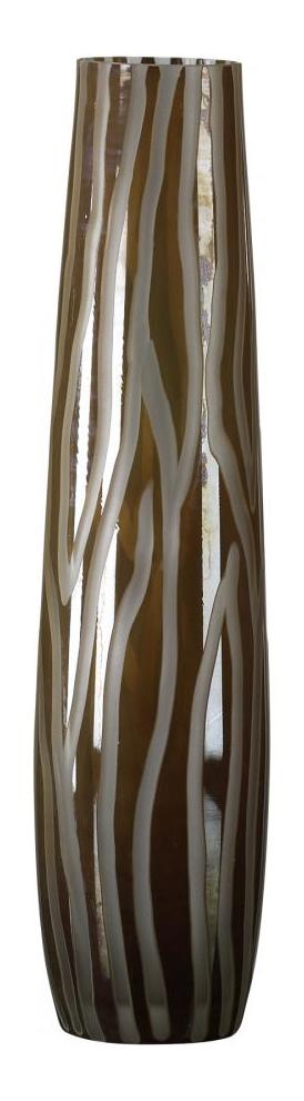Cyan Designs Brown and Smoke 19.75in. Medium Cafe Etched Vase