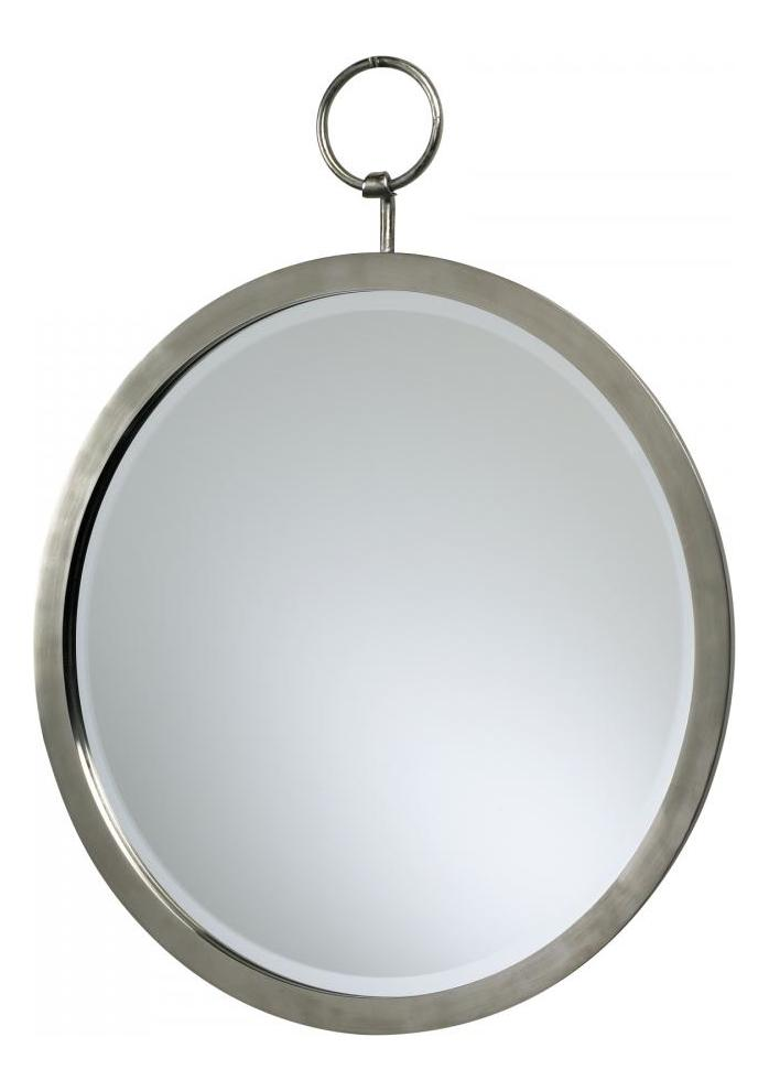 Cyan Designs Polished Chrome Round Hanging Mirror
