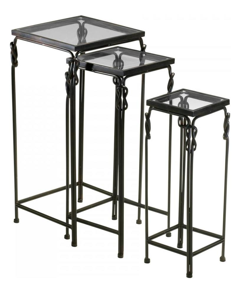 Cyan Designs Rustic Iron Dupont Nesting Tables
