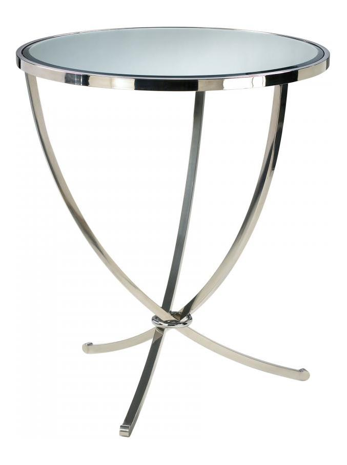 Cyan Designs Stainless Steel Nuovo Foyer Table Stainles