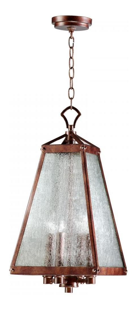 Cyan Designs Oiled Bronze Canterbury 4 Light Full Size Pendant