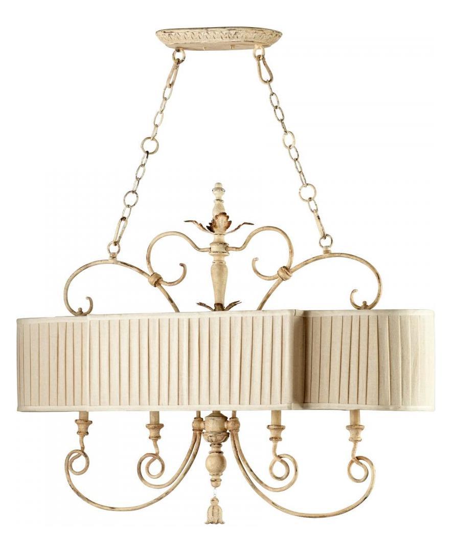 Cyan Designs Persian White Maison 4 Light 1 Tier