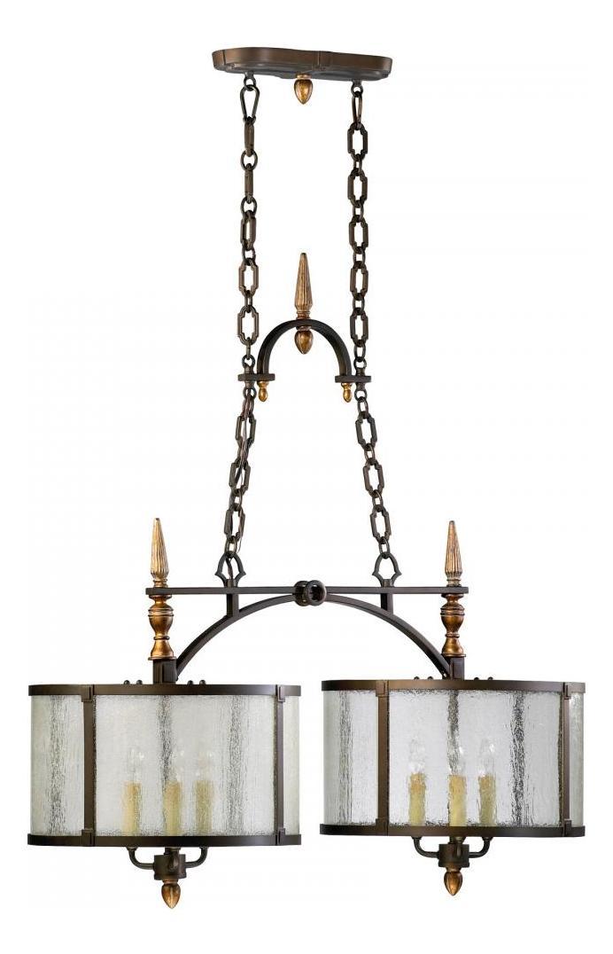 Cyan Designs Oiled Bronze San Giorgio 6 Light 1 Tier