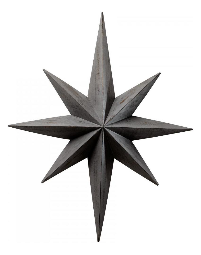 Cyan Designs Distressed Gray Star Wall Decoration
