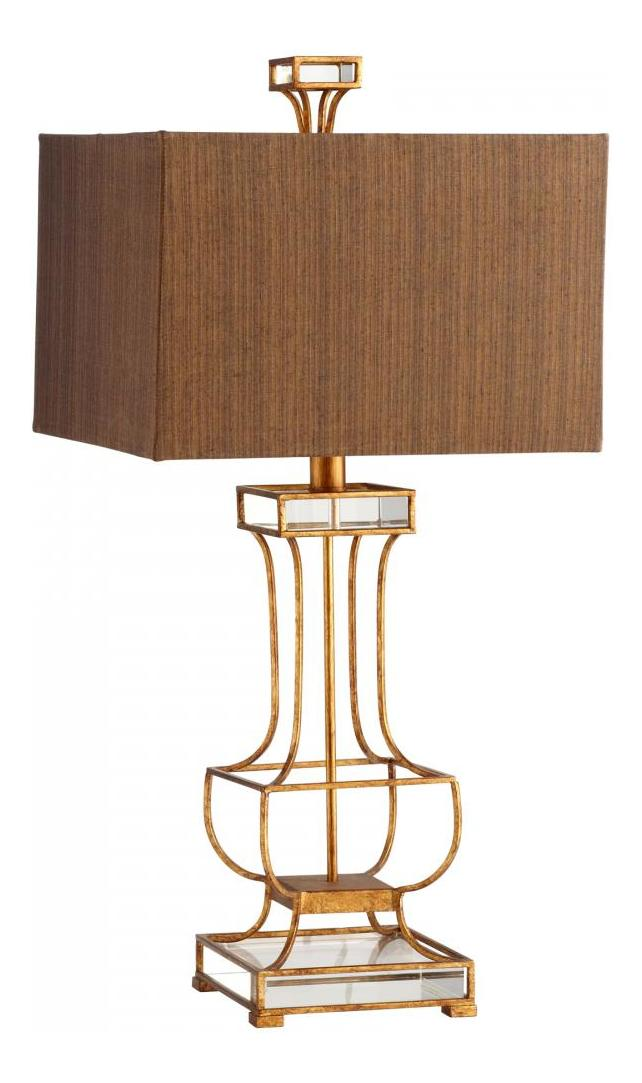 Cyan Designs Gold Leaf Pinkston 1 Light Table Lamp Gold