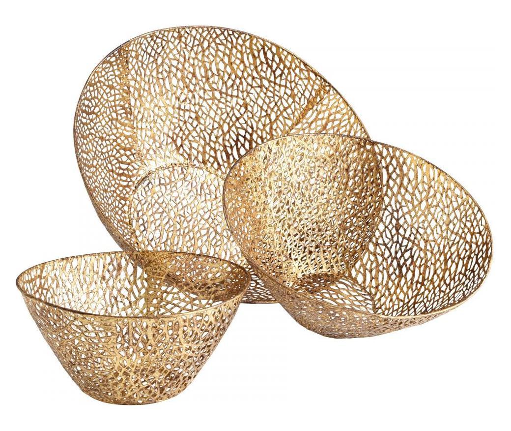 Cyan Designs Open Box Antique Gold Sydne 21 Inch Diameter