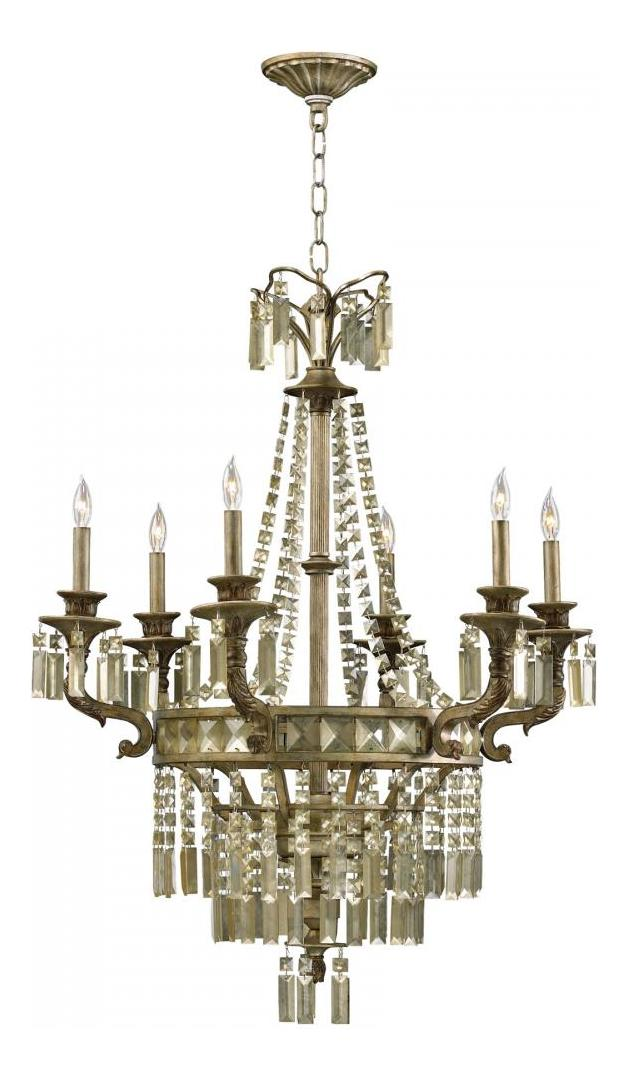 Cyan Designs St. Regis Bronze 39.25in. Six Lamp Chandelier