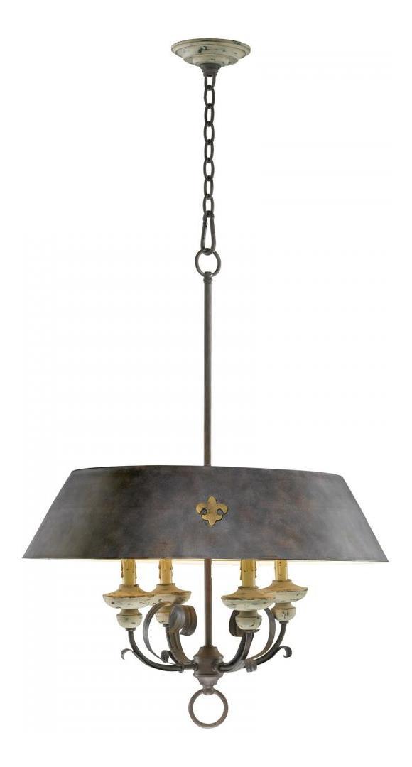 Cyan Designs Carraige House 33 25in Four Lamp Pendant