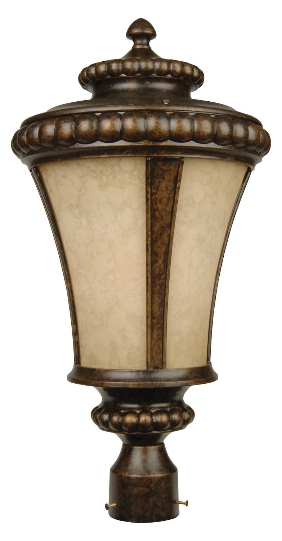 Craftmade Peruvian Bronze Prescott 1 Light Post Light