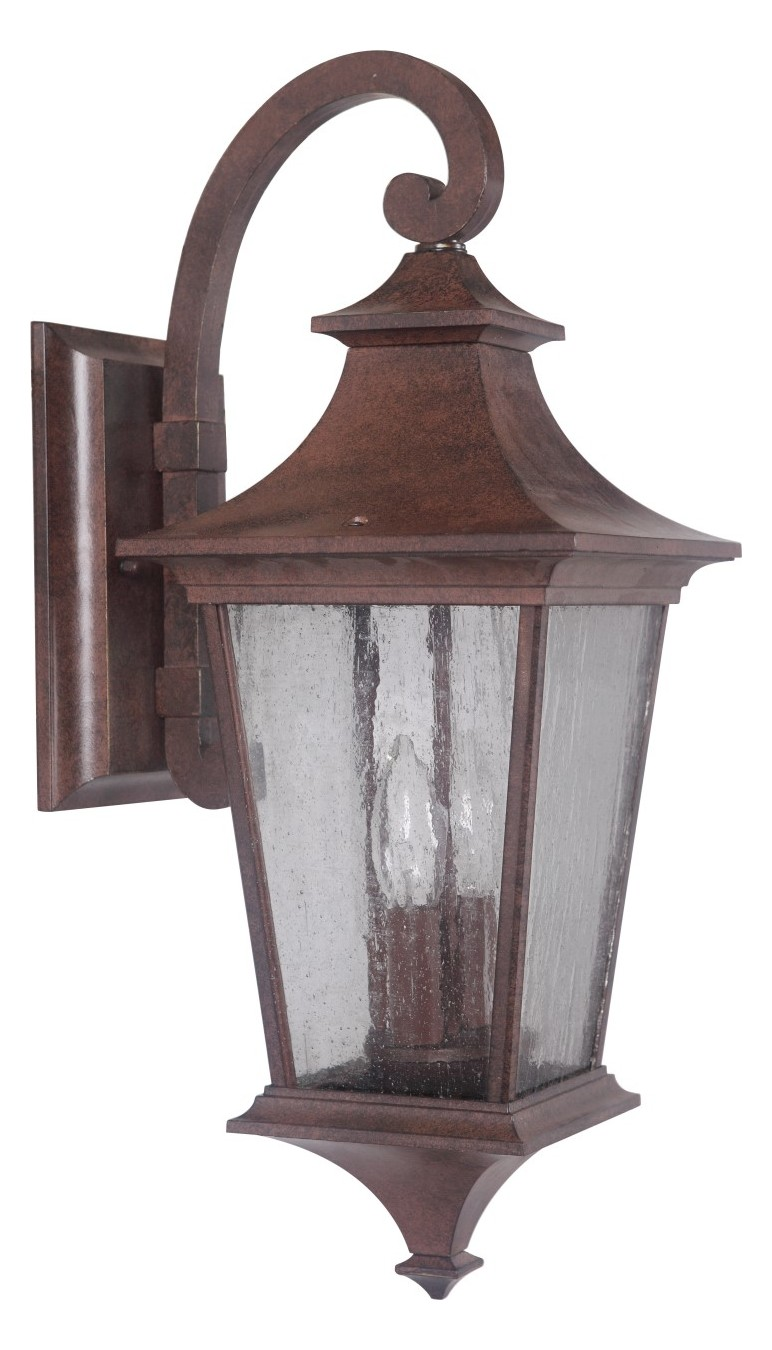 Craftmade Outdoor Wall Sconce In Aged Bronze Aged Bronze ... on Aged Brass Wall Sconce id=93368