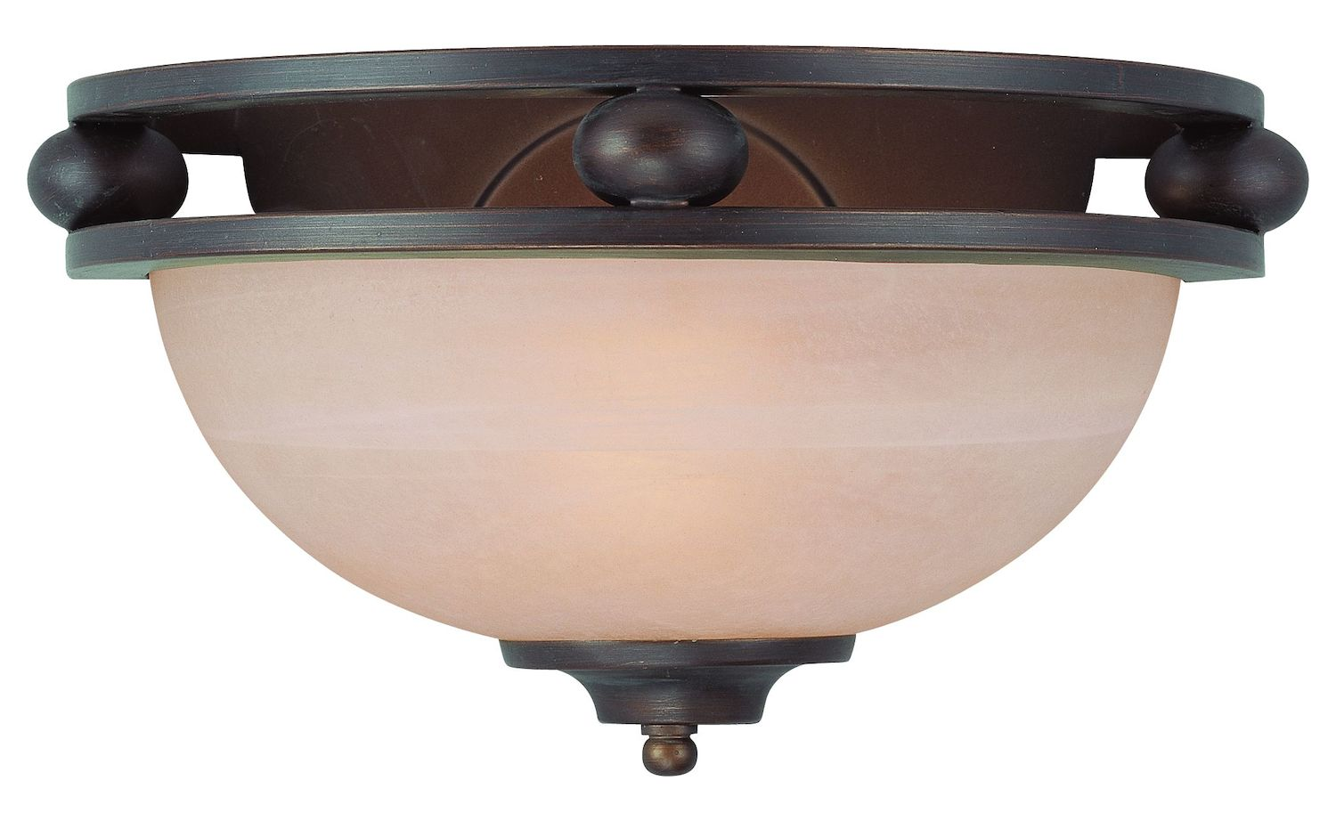 Craftmade One Light Old Bronze Faux Alabaster Shade Wall Light