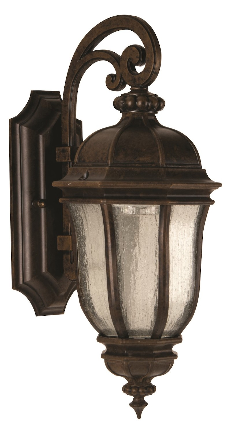 Craftmade Peruvian Bronze Harper 1 Light Outdoor Wall ...