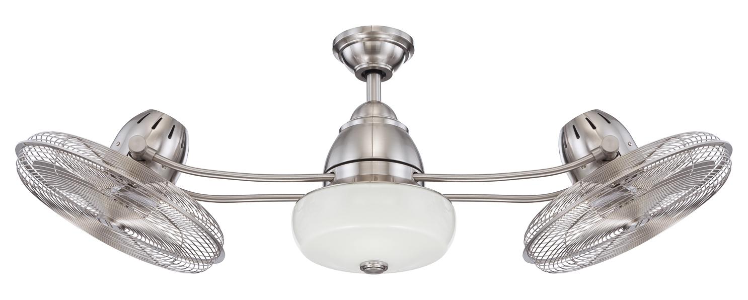 Craftmade Bellows Ii 48 Quot 3 Blade Dual Head Ceiling Fan