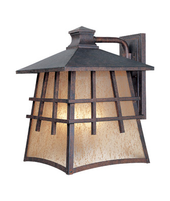Designers Fountain Mediterranean Patina 4 Light 12in. Wall Lantern from the Oak Park Collection