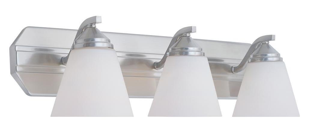 New 3 Light Bathroom Vanity Lighting Fixture Platinum: Designers Fountain Oil Rubbed Bronze 300 Watt Three Light