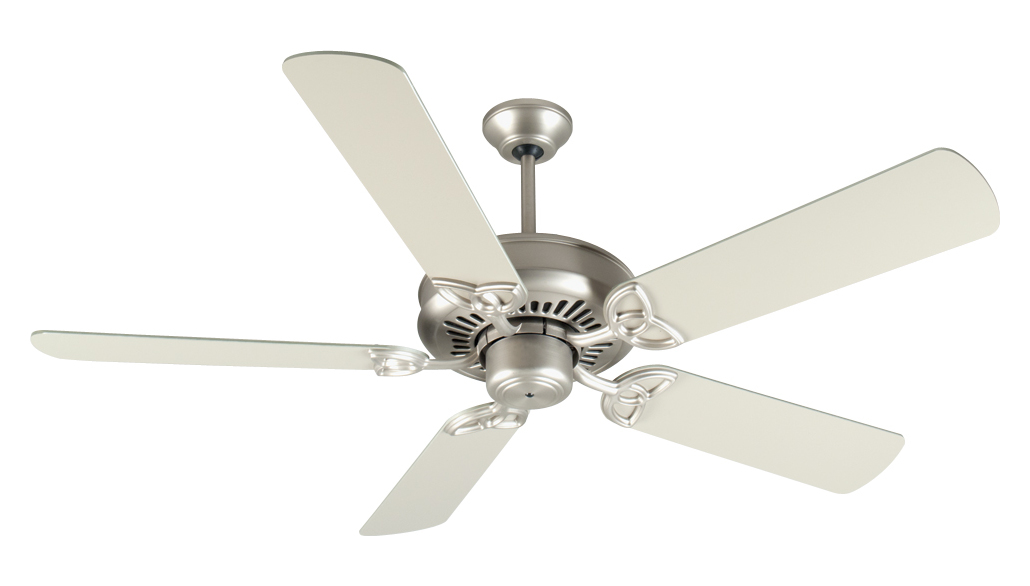 Craftmade American Tradition Ceiling Fan In Brushed Nickel