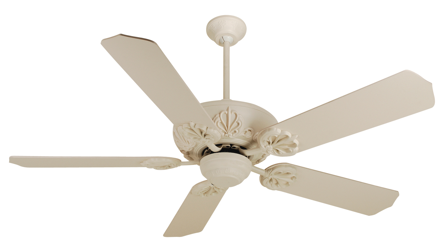 Craftmade Cordova Ceiling Fan In Antique White With 52