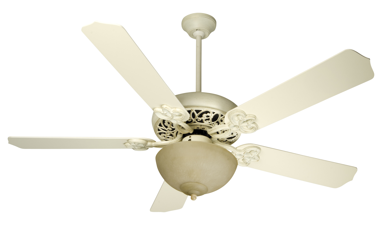 Craftmade Awd Antique White Distressed Ceiling Fan Awd Antique White Distressed K10618 From