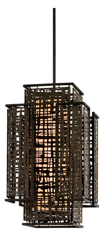 Open Frame Foyer Light : Corbett two light bonsai bronze open frame foyer hall