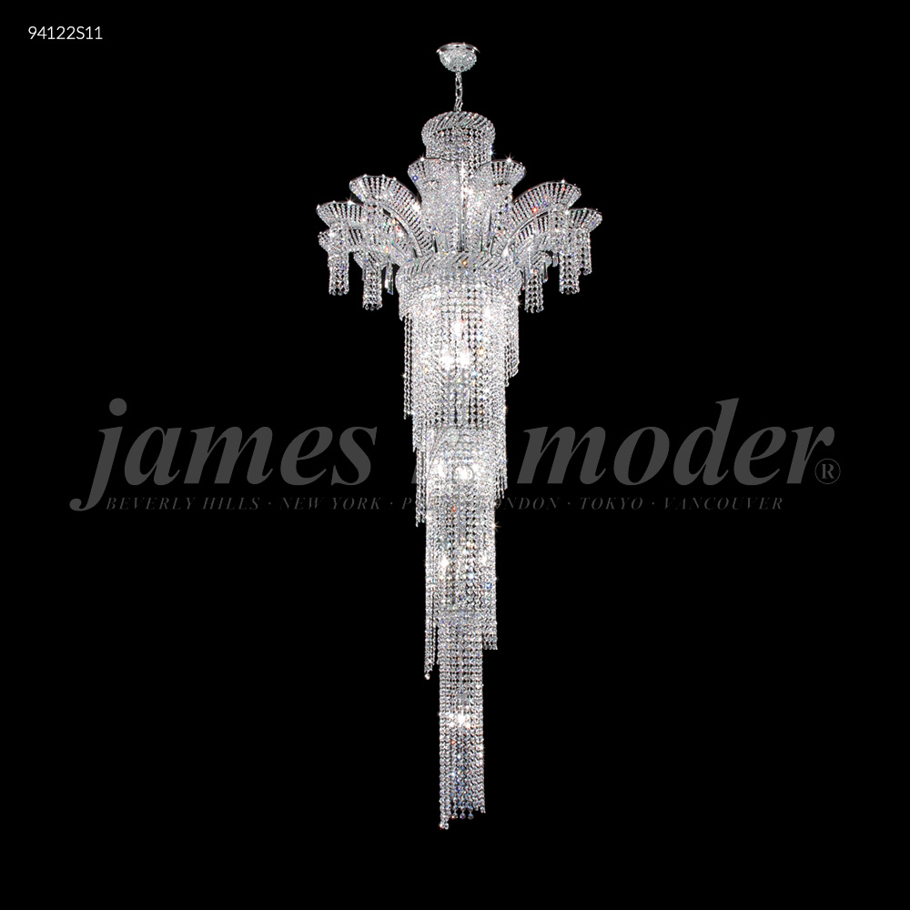 James R Moder Entry Chandelier Silver 94122s11 From Entry Chandelier Collection