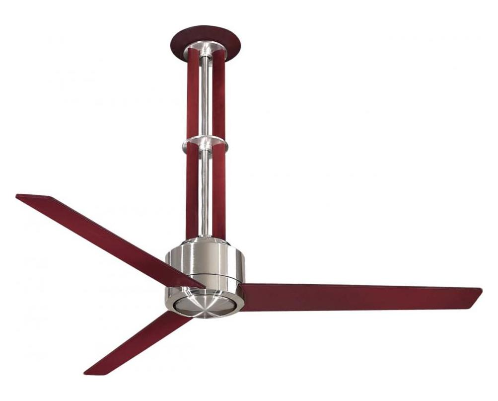 Minka Aire One Light Brushed Nickel Ceiling Fan Brushed