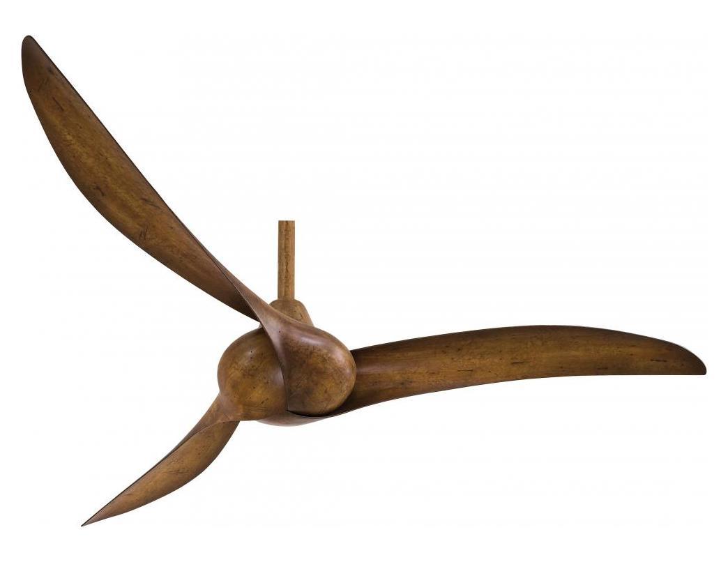 Minka Aire Distressed Koa 52in 3 Blade Indoor Ceiling Fan