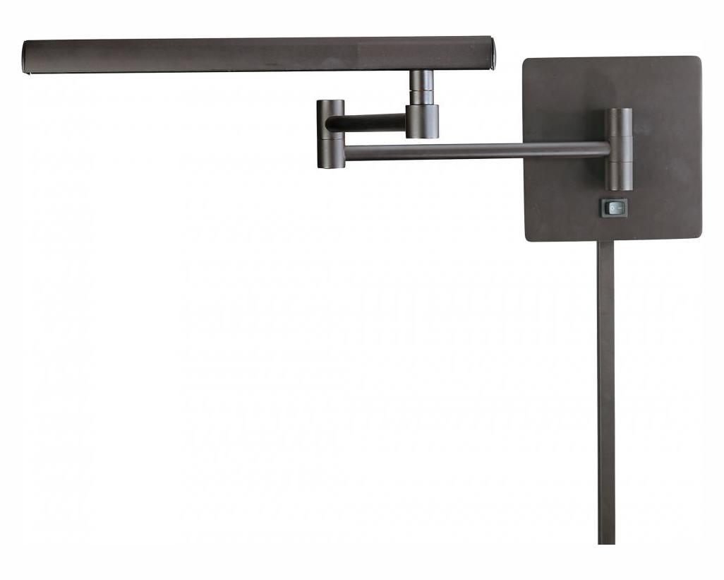 Minka George Kovacs Dorian Bronze 1 Light Plug In Wall Sconce from the Madake Collection