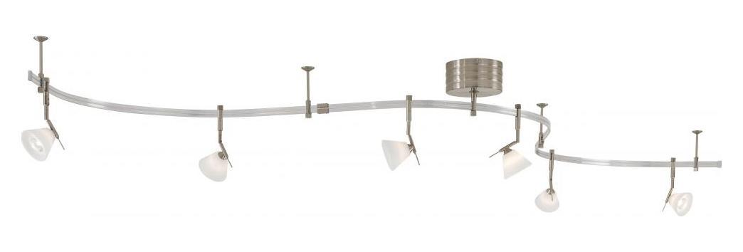 Minka George Kovacs Brushed Nickel Light Rail Kit