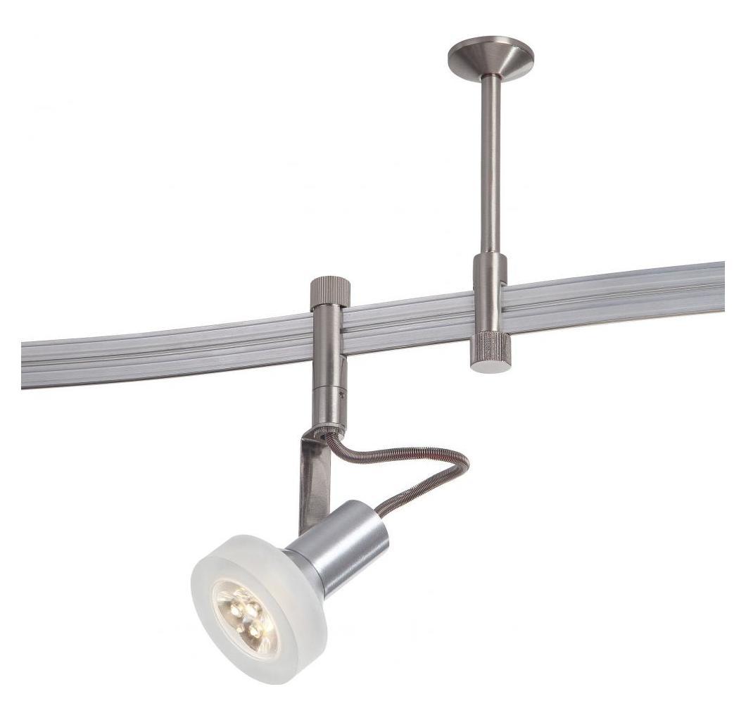 Minka George Kovacs Satin Nickel 5 Light LED Track Kit