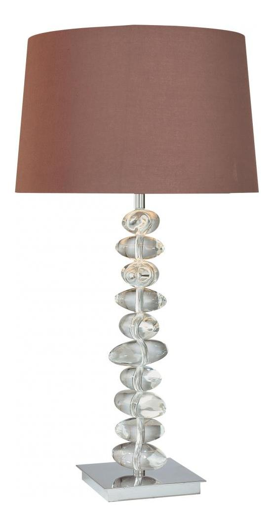 Minka George Kovacs Chrome 1 Light Table Lamp from the Decorative Portables Collection