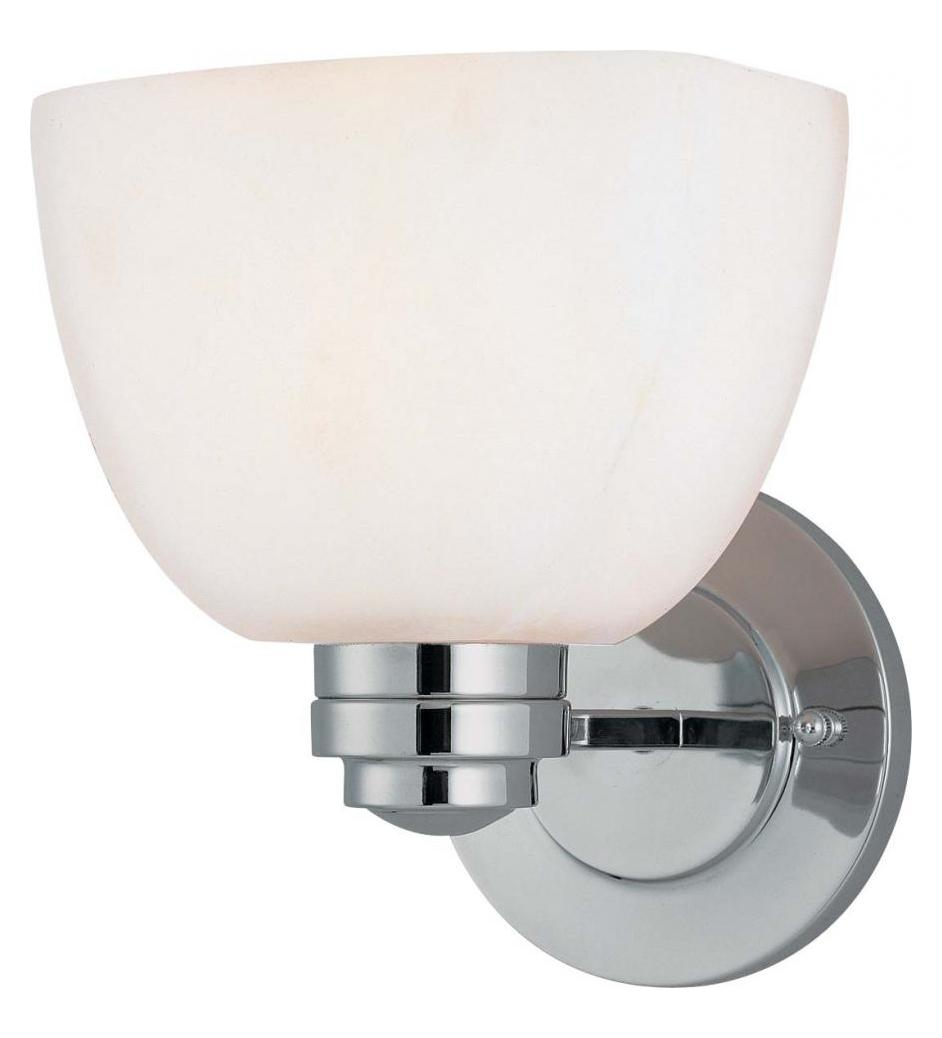 Minka-Lavery Chrome 1 Light 8.25In. Height Energy Star Bathroom Sconce