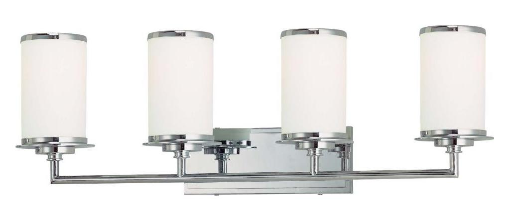 Minka-Lavery Chrome 4 Light 32In. Width Energy Star Bathroom Vanity Light